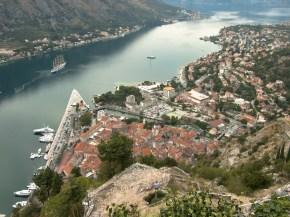 Coraz wyżej nad Kotorem