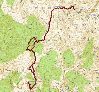 Trasa na Smolikas ( openmaps.eu)