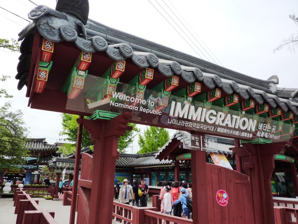 Nami Island Tempat Wisata Paling Populer Di Korea Selatan Paket Tour In Autumn 5 Hari 3 Malam Travelawan By Awan Yulianto Travel Blogger Indonesia