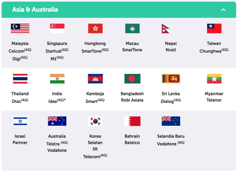 Xl Pass Cara Internet Hemat Di Singapura Malaysia Dan Thailand