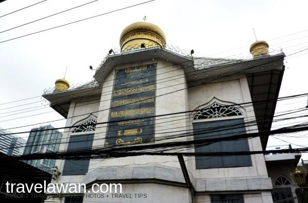 Darul Aman Mosque yang terletak di daerah Pratunam, tidak begitu jauh dari Kedut