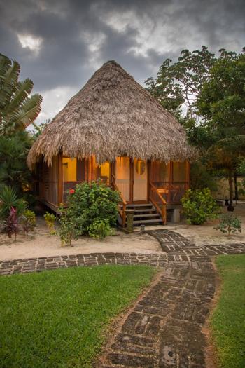 Belice con niños - Turtle Inn - la misma villa de la portada de National Geographic Traveler!
