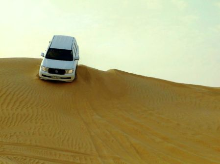 Emirate - escaladă pe dune