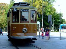 Tramvai în Porto