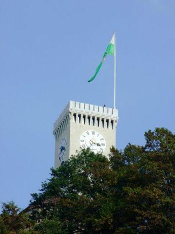 Turnul castelului din Ljubljana, Slovenia