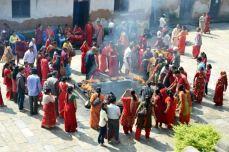 Procesiuni la Pashupatinath