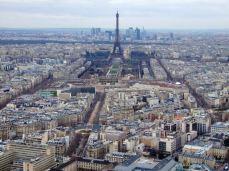 Parisul văzut din Tour Montparnasse