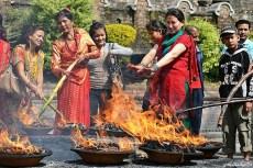 Focul, elementul purificator