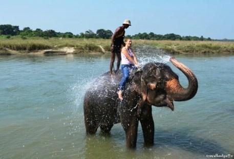 Baie cu elefanții
