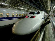 Nozomi Shinkansen la Shin-Osaka Station