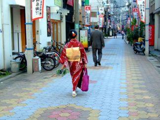 Tradiţionalul Kimono încă se poartă