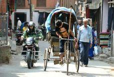 Greu să fii ricşar prin Kathmandu