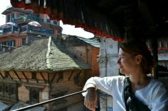 O masă de neuitat la Bhaktapur