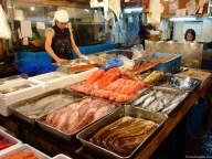 Piaţa de peşte din Tokyo