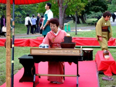 Ceremonia ceaiului sau chanoyu (茶の湯)