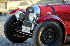 Caravana maşinilor de epocă în Ronda