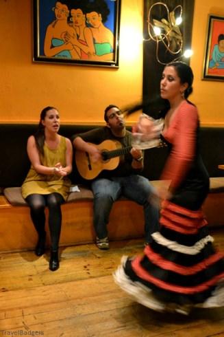 Flamenco show în Malaga