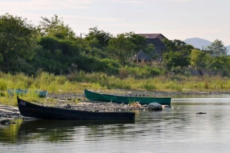Pe malul lacului Murighiol