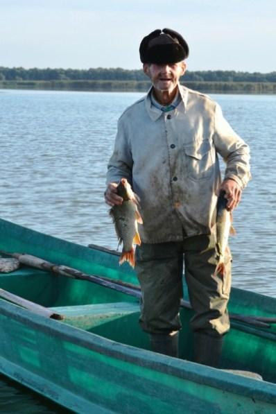 Oamenii Deltei - Uncheşul s-a întors de la pescuit