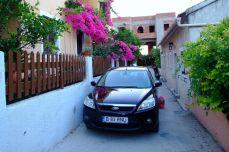Focusache este suplu - pe străzile înguste din Aghia Marina