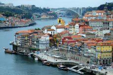 Porto - Oraşul văzut pe Ponte Dom Luis I