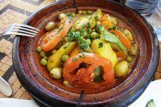 Marrakech - Tajine berber cu pui