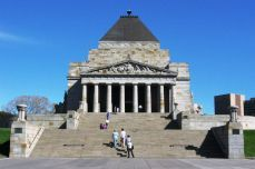 Melbourne - Anzac Monument