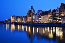 Gdańsk - Lumina albastră