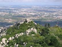 Castelul Maurilor, văzut de la Pena