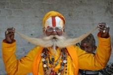Pashupatinath - un Sadhu mustăcios