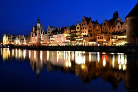 Lumina albastră în Gdańsk
