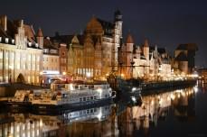 Gdańsk - Długie Pobrzeże (Podul cel Lung)