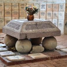 Cisnădioara - altarul eroilor din cetatea Michelsberg