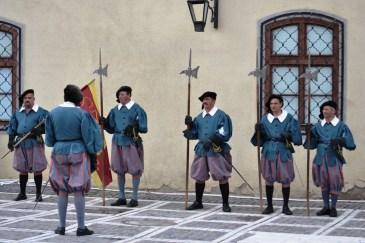 Spectacol medieval în Piaţa Sfatului