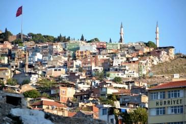 Casele de pe dealuri în Izmir