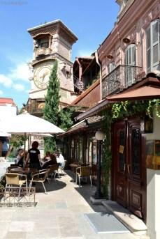Cafeneaua de la baza turnului
