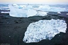 Plaja cu gheață
