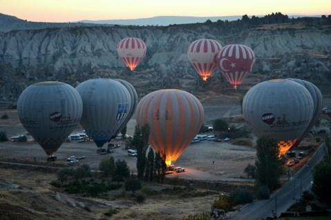 Baloanele își încep ascensiunea