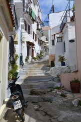 Străzi în Skiathos