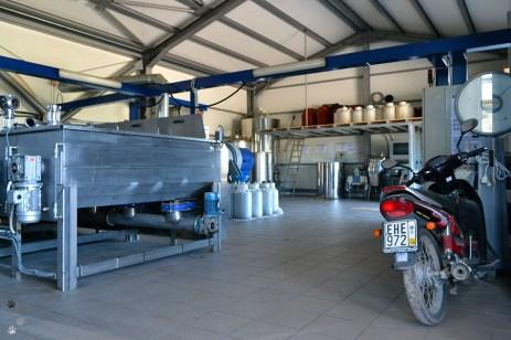 Stația de procesare a uleiului de măsline