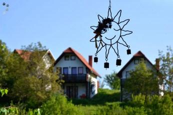 Soare vesel la Cisnădioara