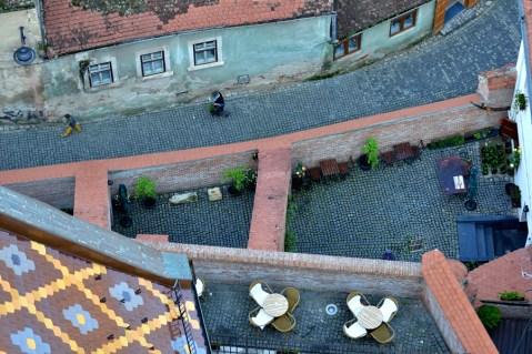Sibiul văzut de sus