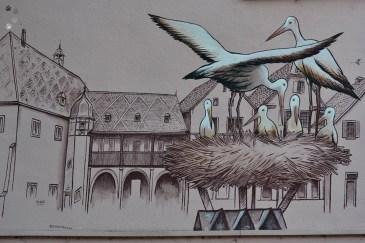 Barza este simbolul Alsaciei