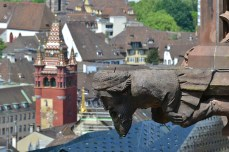Dar și în turnul cetății din Basel, Elveția