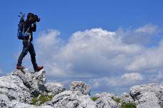 Spre vârful lui Stan, Munții Mehedinți