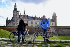 Cu bicicleta prin Zealand - la castelul Kronborg, Helsingør