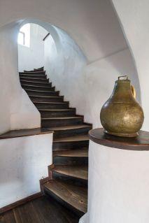 Interiorul castelului