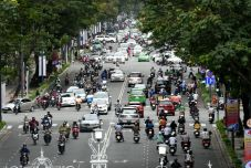 Trafic de Saigon