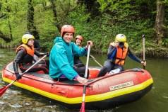 Rafting pe Nera