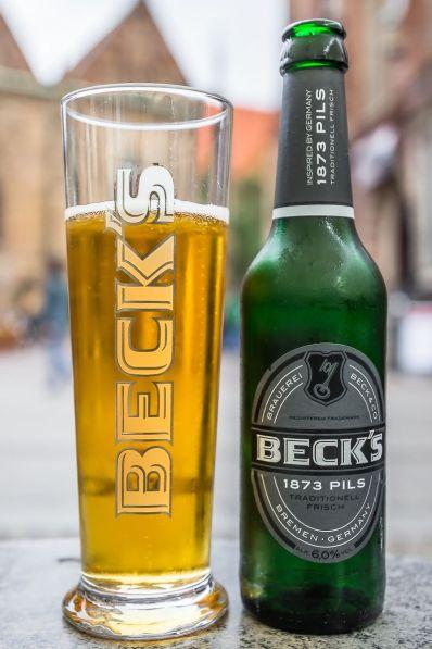 Becks, la ea acasă